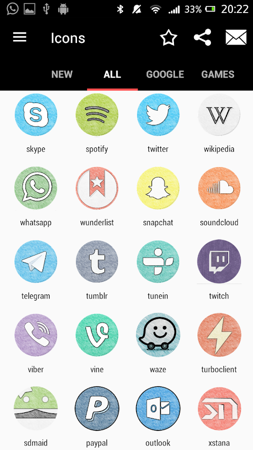 IUX Icon Pack Screenshot 1