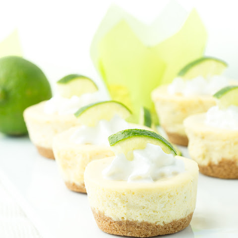 Mini Lime Cheesecakes