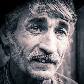 Outlaw by Catalin Caciuc - People Portraits of Men ( face, life, romania, bucovina, outlaw, rural, people )