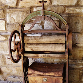 Mangle by Sarah Harding - Novices Only Objects & Still Life ( old, novices only, museum, laundry, historic,  )