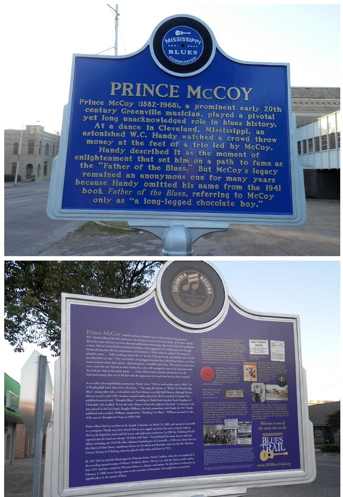 Side APrince McCoy (1882-1968), a prominent early 20th century Greenville musician, played a pivotal yet long unacknowledged role in blues history. At a dance in Cleveland, Mississippi, an astonished ...