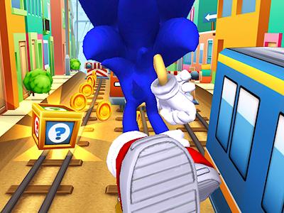 Subway Sonic Surf Run APK