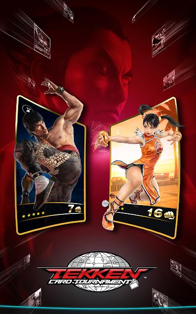 Tekken Card Tournament (CCG) screenshots