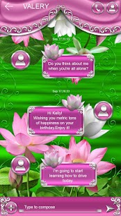 How to mod Lotus Go SMS Pro Theme 1 apk for android
