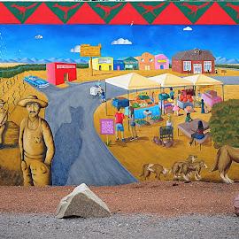 New Mexico History by Shawn Thomas - City,  Street & Park  Street Scenes