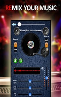 iRemix Portable Music DJ Mixer - screenshot