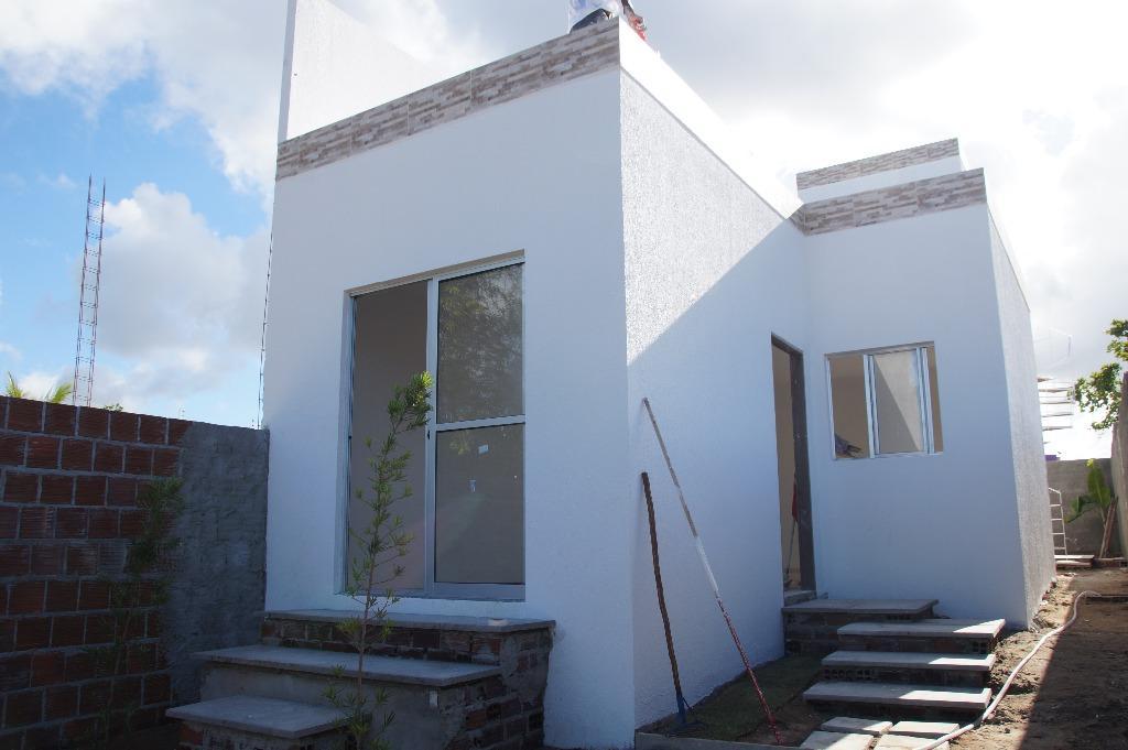 Linda Casa Com Solarium em Carapibus. Imperdível!