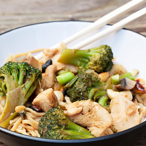 Oriental Chicken and Cashew Nut Stir Fry