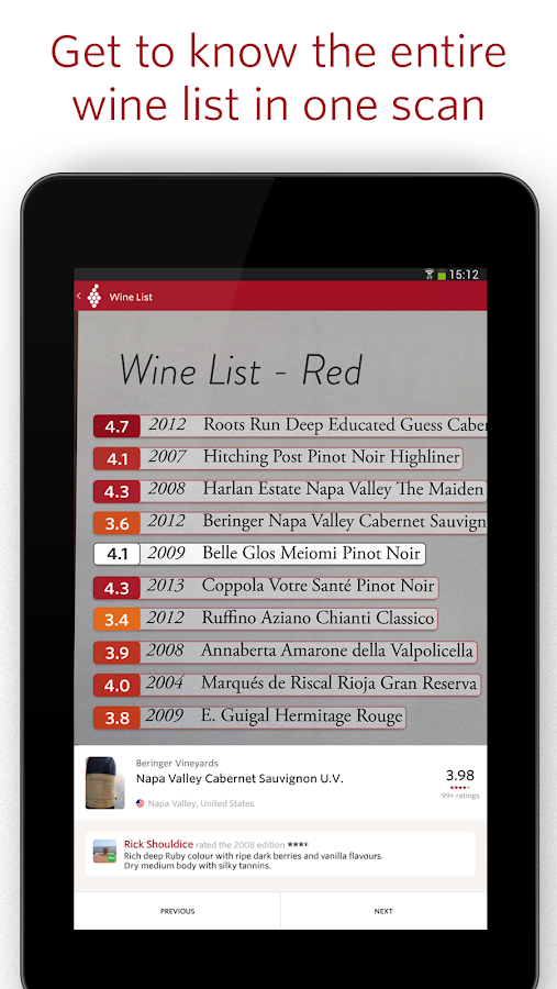 Vivino Wine Scanner Screenshot 12