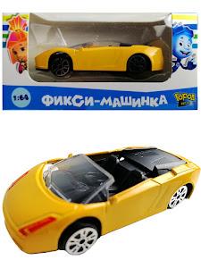 """Машинка гоночная """"Фиксики"""" 1:64 Нолик 2"""