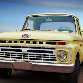 Mercury Truck by Joerg Schlagheck - Transportation Automobiles ( old, truck, beautiful, restored, like new, shiny, mercury )