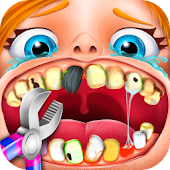 Crazy Fun Kid Dentist Icon