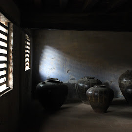 by Nandita Ramesh - Novices Only Objects & Still Life ( old, shadow, historical, pots, light )