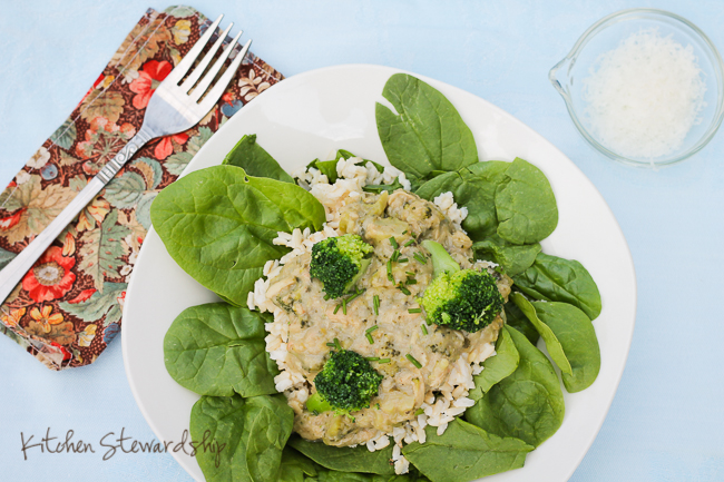 Gluten-Free, Protein-Packed White Sauce with Chicken and Rice Recipe ...