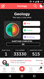 QuizUp APK for Blackberry