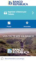 Screenshot of BROU Banca por Celular