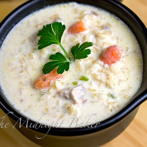 Cream of Turkey & Brown Rice Soup