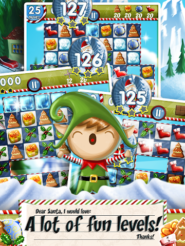 android Xmas Swipe Screenshot 6