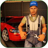 Game Limousine Car Mechanic 3D Sim APK for Kindle