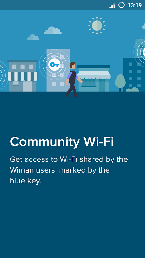 Free WiFi - Wiman Screenshot 1