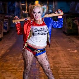 Harley Quinn by Dave Zuhr - Public Holidays Halloween