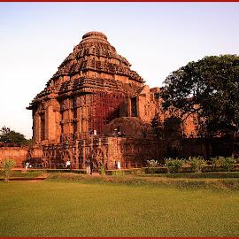 Konark Temple2 by Prasanta Das - Buildings & Architecture Public & Historical ( sun temple, konark, world heritage )