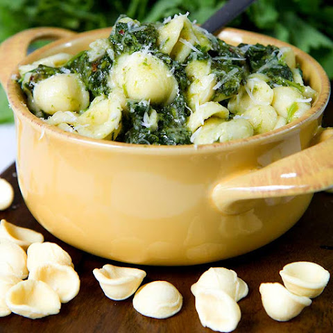ORECCHIETTE WITH RAPINI AND ANCHOVIES