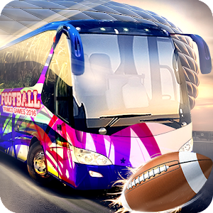 American Football Bus Driver