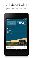Screenshot of Amtrak