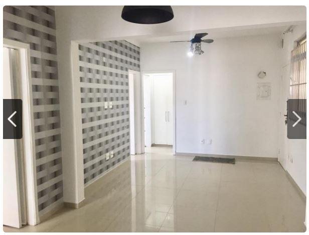 Apartamento com 2 dormitórios à venda, 72 m² por R$ 294.000,00 - Centro - São Vicente/SP