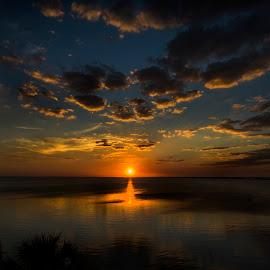 by Paul Scullion - Landscapes Sunsets & Sunrises ( florida, sunset, seascape, sunrise, landscape )