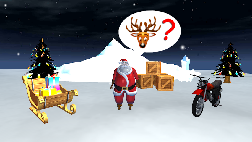android Santa Rider Screenshot 0