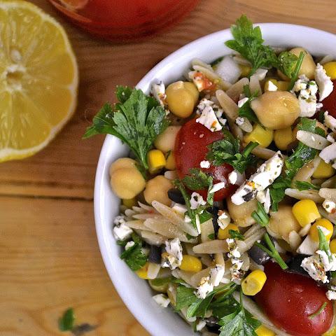 Chickpea Orzo Salad Recipes | Yummly