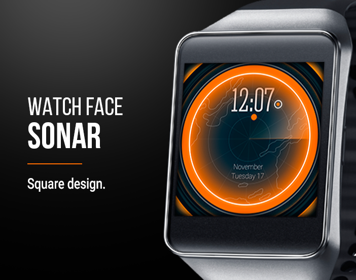 Watch Face: Sonar Screenshot 3