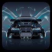 Neon car Theme APK for Blackberry