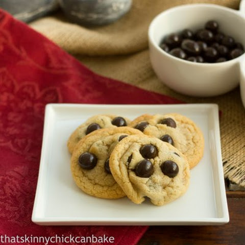 Brown Butter Cookies with Brookside Chocolate~