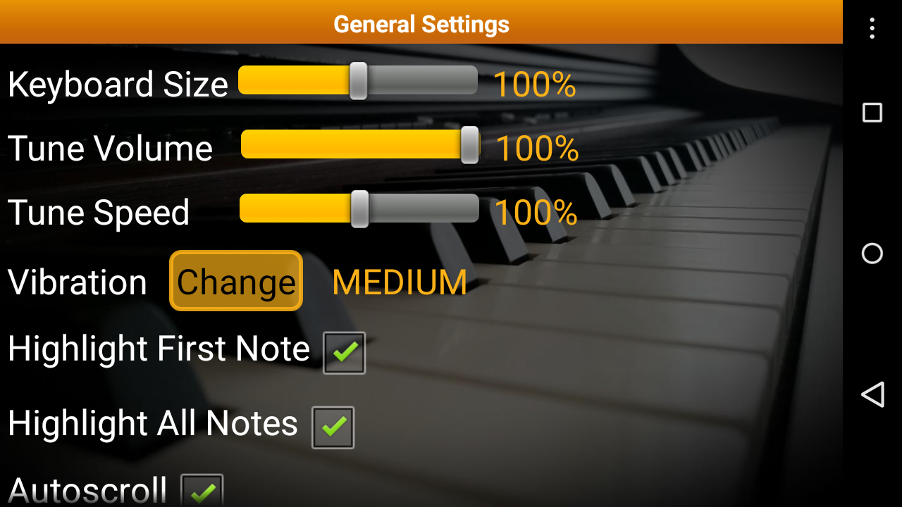 Piano Melody Pro Screenshot 4