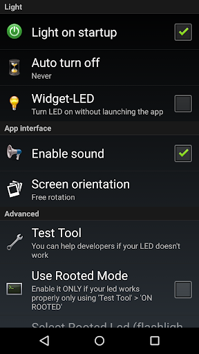 Flashlight HD LED screenshot 4