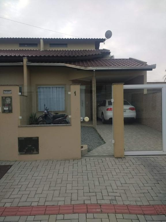 Sobrado com 4 dormitórios à venda, 90 m² por R$ 430.000 - Perequê - Porto Belo/SC