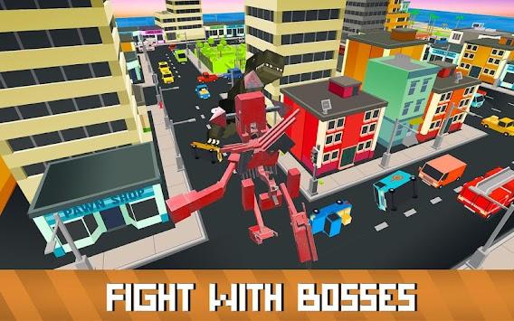 Blocky Robot Smash apk screenshot