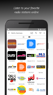 VRadio - Online Radio Player & Recorder Screenshot