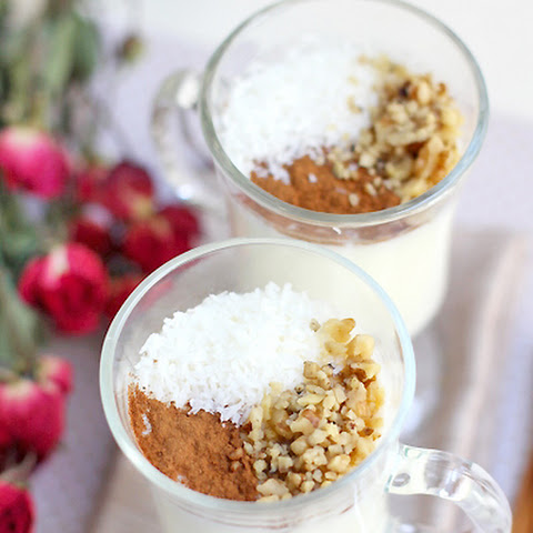 Sachlav Rose Water Pudding