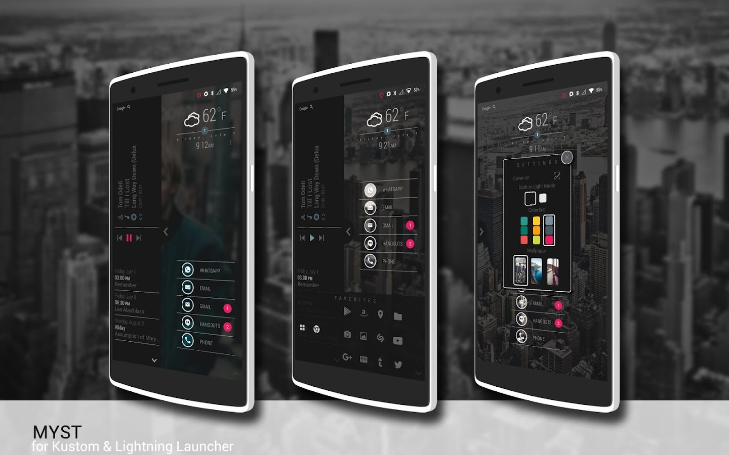 MYST for Kustom & LL Screenshot 1