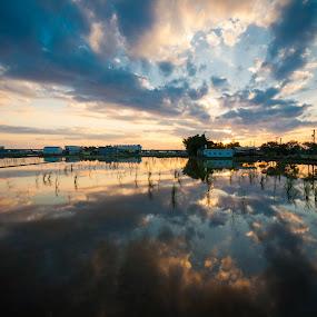 by Jay Chen - Landscapes Sunsets & Sunrises
