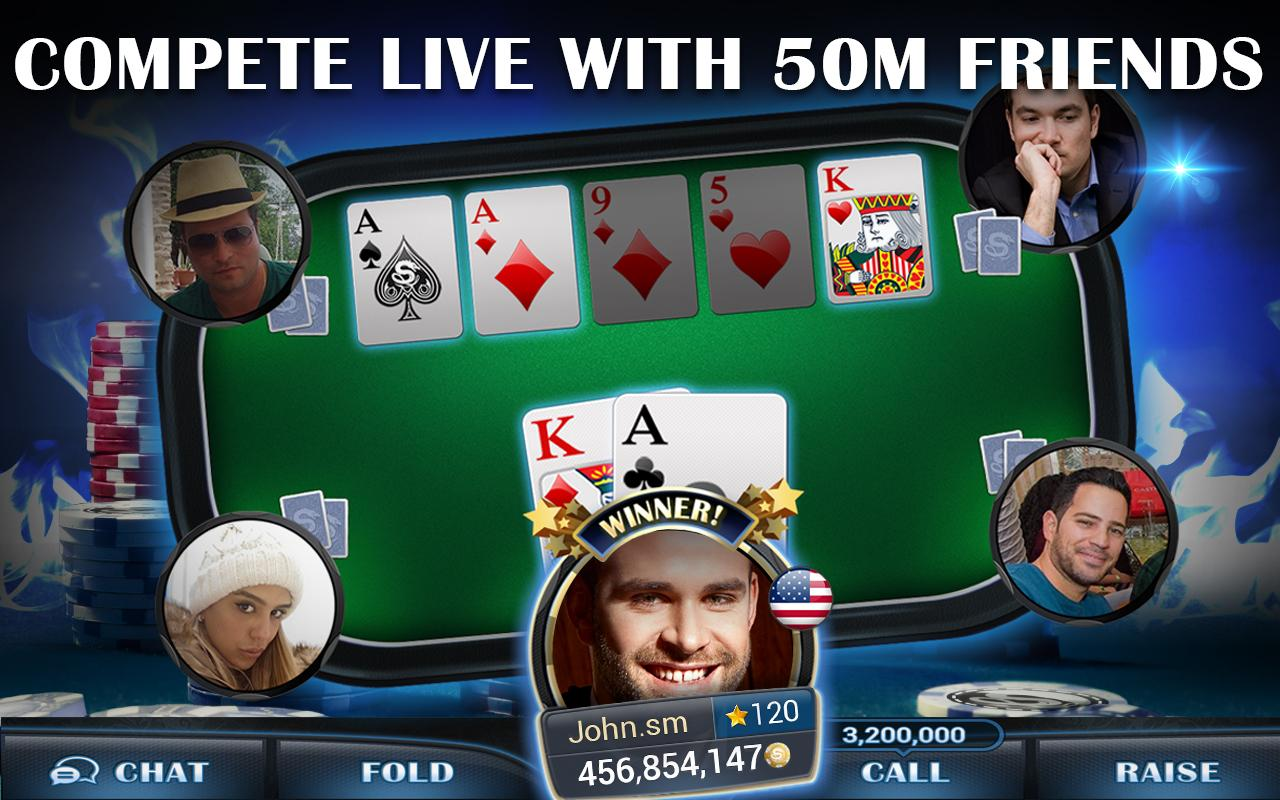 Live Hold'em Pro Poker Games Screenshot 2