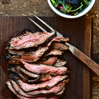 Hawaiian Marinated Flank Steak