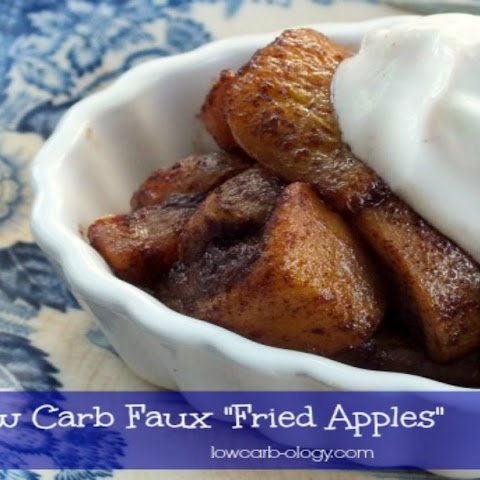 Low Carb Faux Cracker Barrel Fried Apples (Induction)