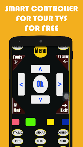 Smart Tv Remote Control - screenshot