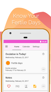 Download Period and Ovulation Tracker, Ovulation calculator APK for Android Kitkat