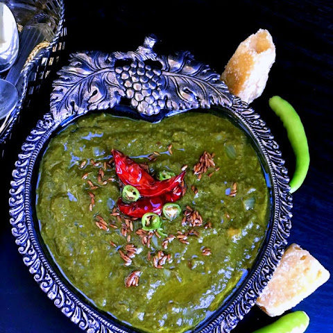 Creamy Sarson ka Saag (Mustard Greens in Brown Butter)